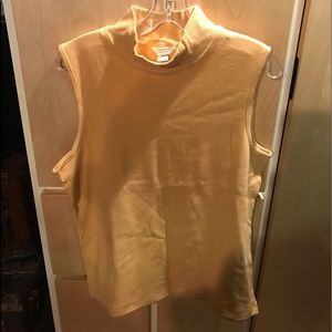 Christopher Banks New Womans Yellow Tank Top Large